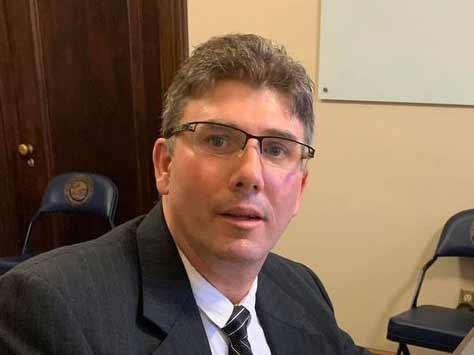 Democrat Mark Hurt of West Virginia