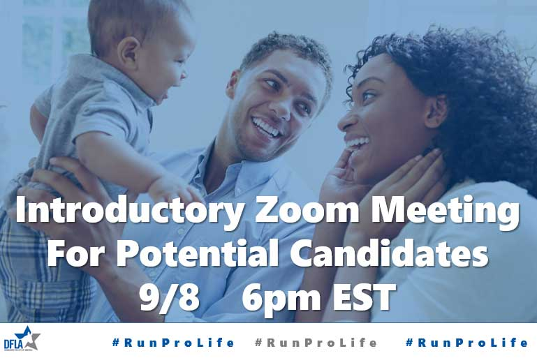 Introductory Zoom Meeting for Potential Candidates will be September 8th at 6pm EST