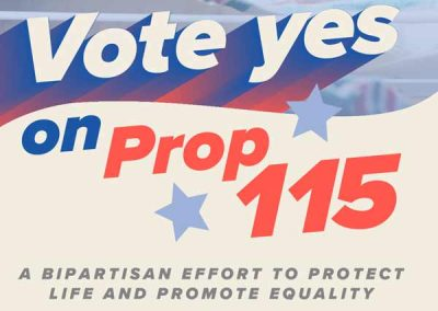 Proposition 115 – YES *