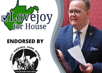 Chad Lovejoy – West Virginia State Senate, District 17