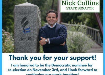 Nicholas P. Collins – Massachusetts State Senate, First Suffolk District