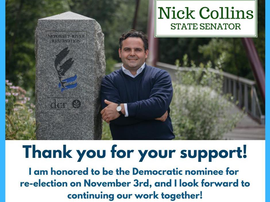 Nick Collins - Massachusetts State Senate