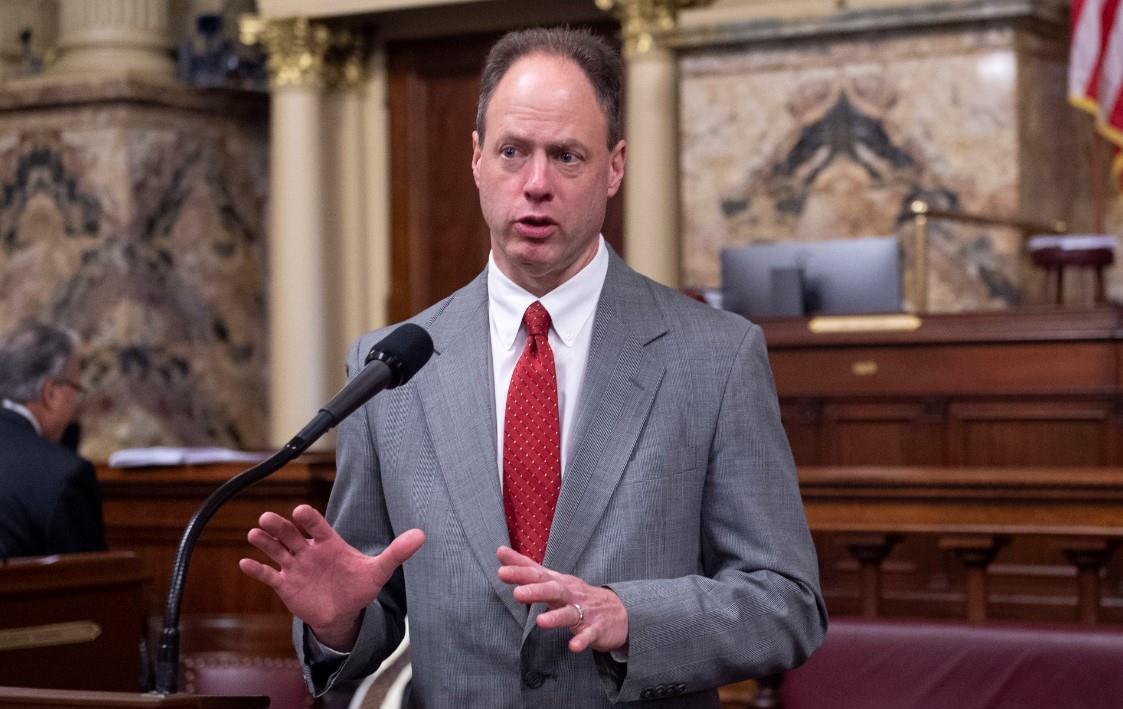 Mark Longietti speaking on the Pennsylvania House floor